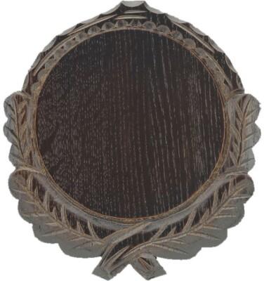 Eurohunt Keilerschild geschnitzt 19 cm