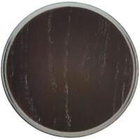 Eurohunt Keilerschild rund 14 cm (Eiche dunkel)