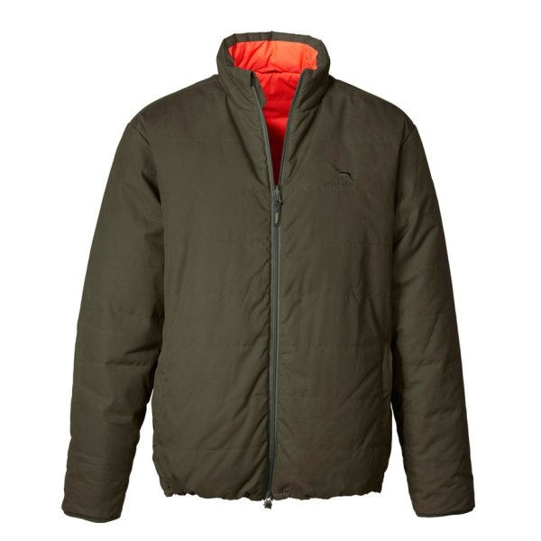 Parforce Wendesteppjacke Primaloft® PS 5000 oliv/orange Herren