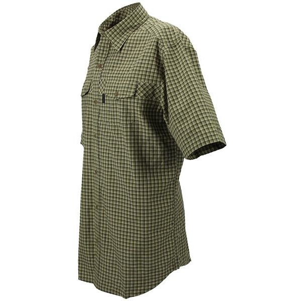 Chevalier Greenville Coolmax® Kurzarmhemd Sleeve checked Herren