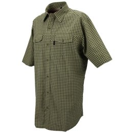 Chevalier Greenville Coolmax® Kurzarmhemd Sleeve checked...