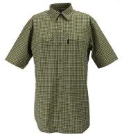 Chevalier Greenville Coolmax® Kurzarmhemd Sleeve checked Herren