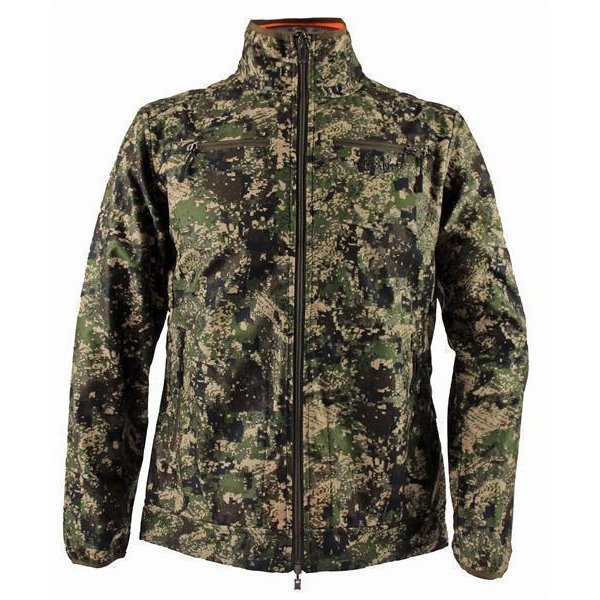 Chevalier wendbarer Windblocker Jacke Pixel Camo/Orange...