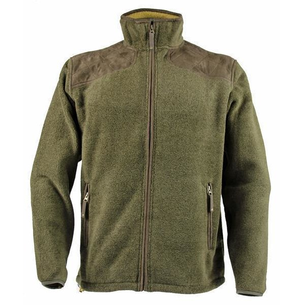 Seeland William Fleece Jacke grün Herren