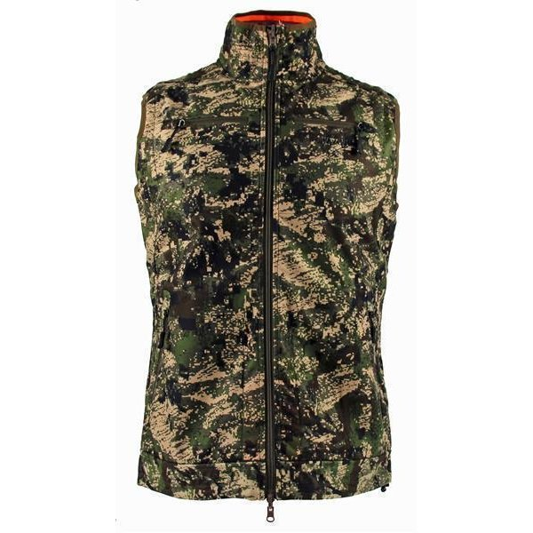 Chevalier wendbare Windblocker Weste Pixel Camo/ Orange...