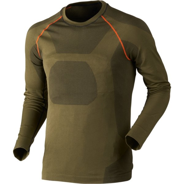 Seeland Ageo Base Layer 2-tgl.Thermounterwäsche Set Pro green Herren