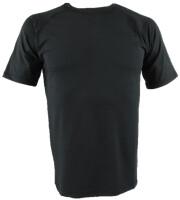 Bodytide Funktionsshirt Rundhals cool comfort grau melange/schwarz Herren
