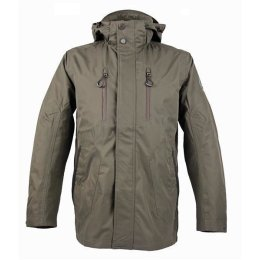 Crossfield Outdoor Funktionsjacke oliv/braun wasserdicht...