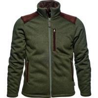 Seeland Dyna Knit Fleece Jacke grün Herren