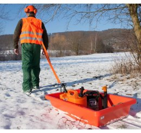 Eurohunt Gurt für Forst- und Wildwanne orange mit Haken