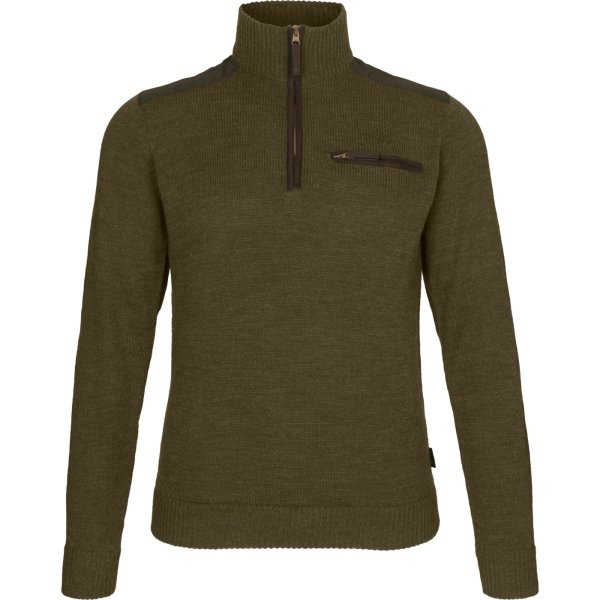 Seeland Buckthorn Troyer Strickpullover shaded olive...