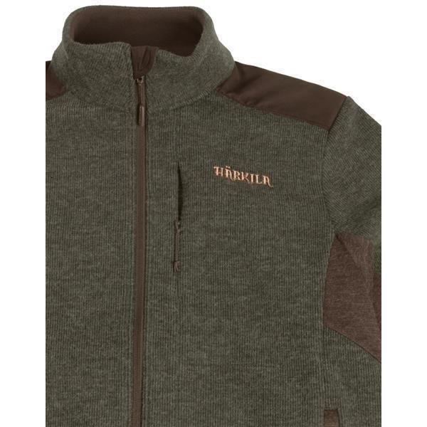 Härkila Metso Active Fleecejacke willow grün Herren