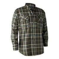 Deerhunter Caribou Check Hemd grün-braun-kariert Herren