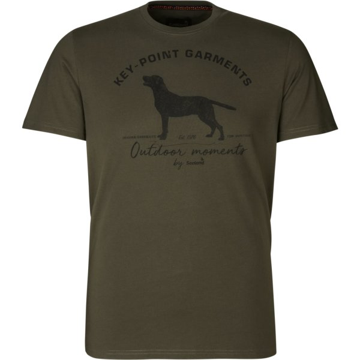 Seeland Key-Point T-Shirt pine grün Herren
