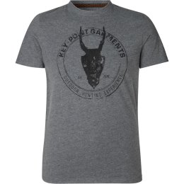 Seeland Key-Point T-Shirt grau melange Herren