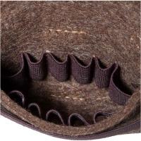 Parforce Patronentasche aus Filz braun