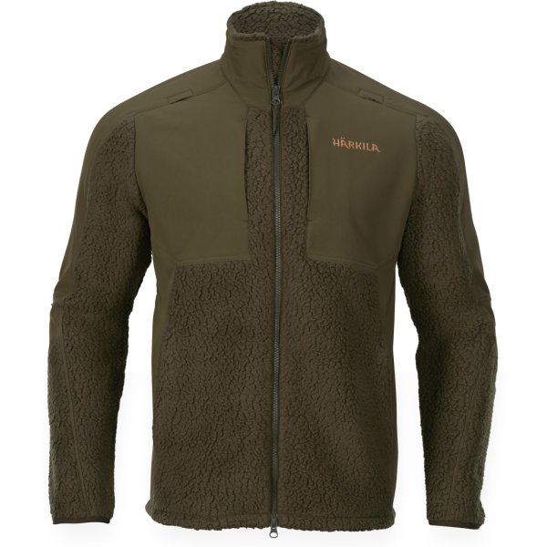 Härkila Polar Fleecejacke willow grün Herren