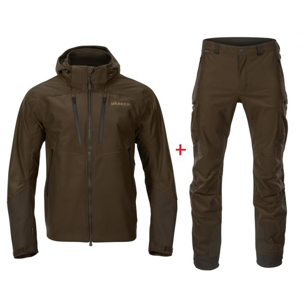 Härkila Mountain Hunter Pro Set grün Herren