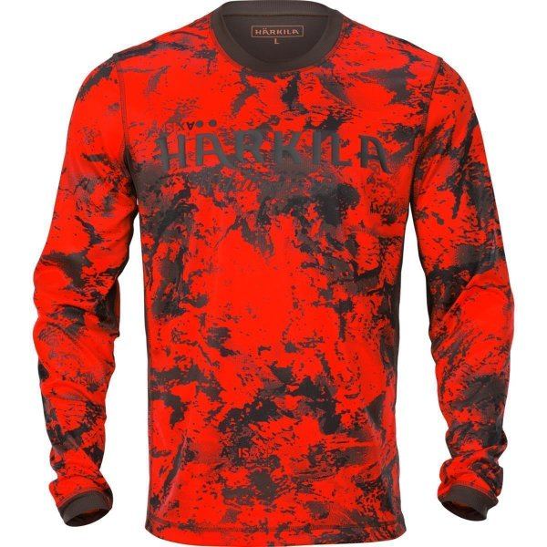 Härkila Wildboar Pro Langarmshirt AXIS MSP® orange...