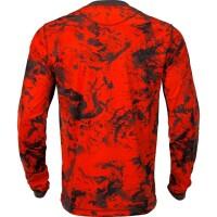Härkila Wildboar Pro Langarmshirt AXIS MSP® orange Blaze/braun Herren