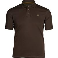 Seeland Skeet Polo T-Shirt braun Herren