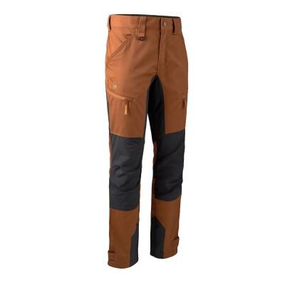 Deerhunter Rogaland Stretchhose mit Kontrast burnt orange/schwarz Herren