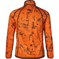 Seeland Vantage reversible Fleecejacke pine grün/invis orange blaze Herren